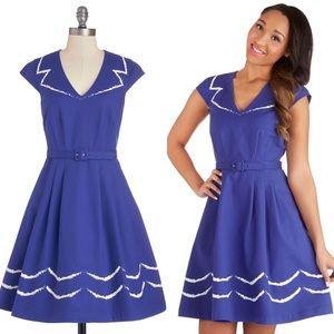 Modcloth Oslo & Behold Dress